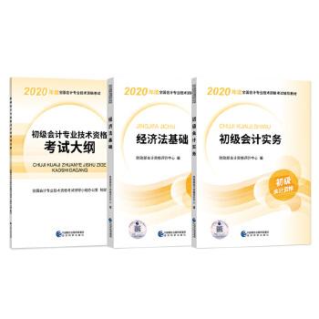 初级会计专业技术资格考试初级会计实务+经济法基础+大纲
